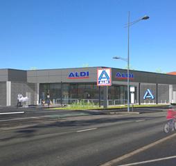 Benoît Compain Architecte - Architecture Commerce Aldi