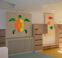 Benoît Compain Architecte - Design de mobilier de crèche